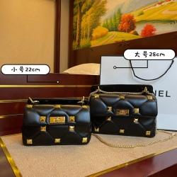 Valentino leather chain stud bag  #99907344