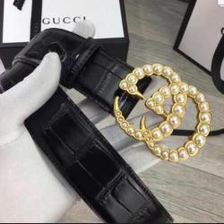 Brand G AAA+ Leather Belts W3.8cm #9130499