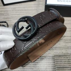 AAA+ Leather Belts W4cm #9129907