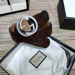 AAA+ Leather Belts W4cm #9129919