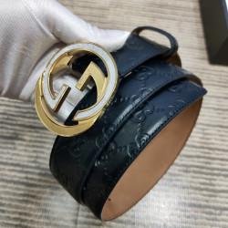 AAA+ Leather Belts W4cm #9129920