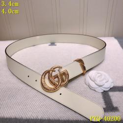 Men's  AAA+ Leather Belts 3.5cm #9124220