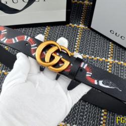 Men's  AAA+ Leather Belts 3.5cm #9124225