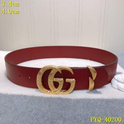 Men's  AAA+ Leather Belts 4cm #9124269