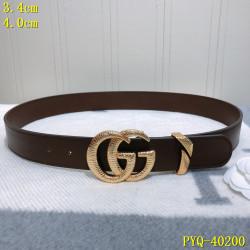 Men's  AAA+ Leather Belts 4cm #9124271