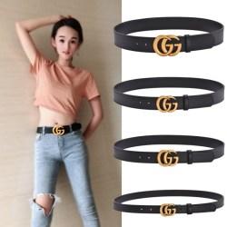 Women's  1:1 leather Belts 2-7cm #9126733