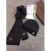 Brand L Wool knitted Scarf and cap 185*35cm #9108729