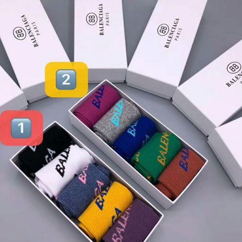 Brand Balenciaga socks (5 pairs) #9129123