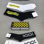 OFF WHITE socks (2 pairs) #9109388