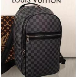 Brand L AAA+ black Backpack #9106345