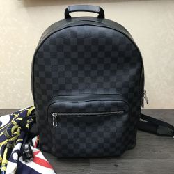 Brand L AAA  black hot sale Backpack 31*42*13cm #9106873