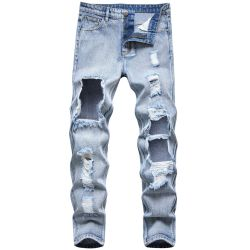 Ripped jeans for Men's Long Jeans #99899886