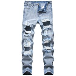 Ripped jeans for Men's Long Jeans #99899893