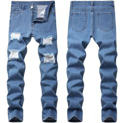 Ripped jeans for Men's Long Jeans #99899894