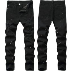Ripped jeans for Men's Long Jeans #99899899
