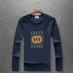 long-sleeved T-shirt for Men Plus Size M-5XL #999546