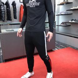 HERMES Long-Sleeved T-shirts for MEN #9108926