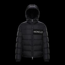 Mo*cler black down Coats #9115968
