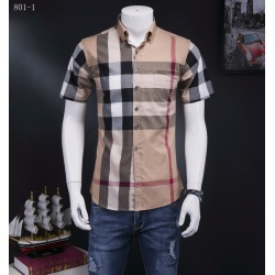 Burberry AAA+ Shorts-Sleeved Shirts for men #818093