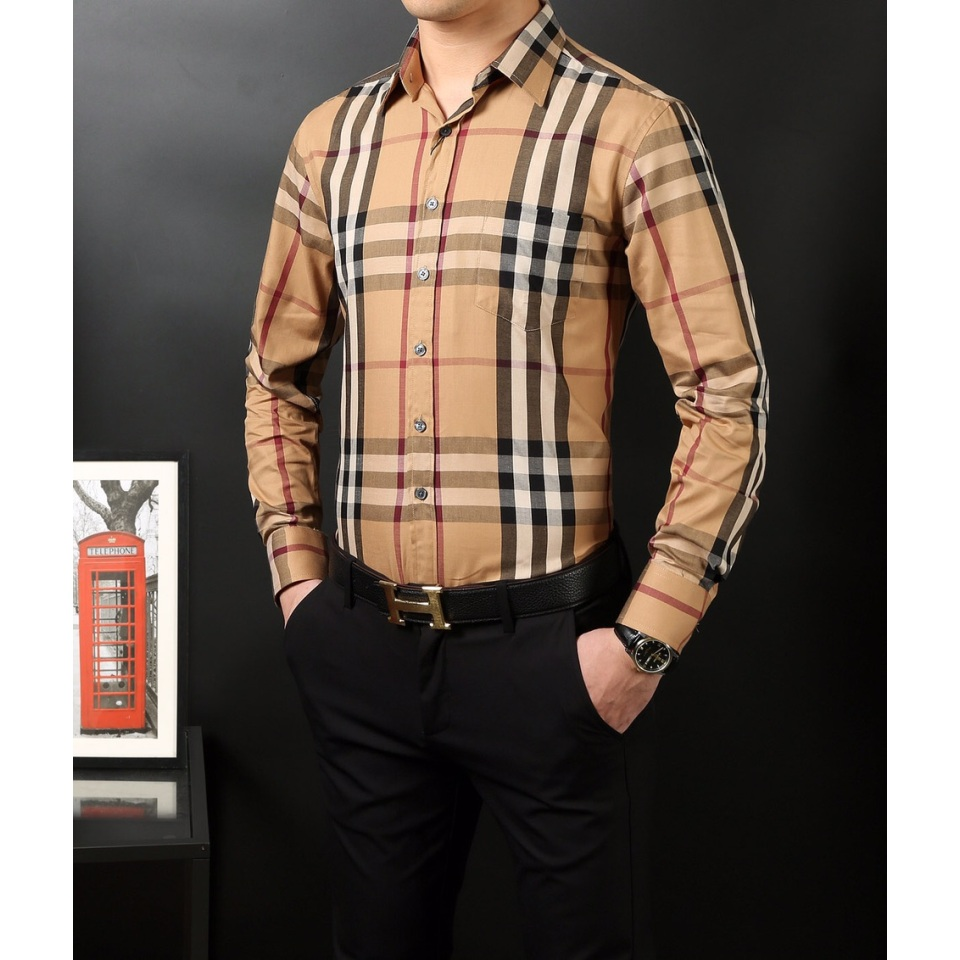 Burberry Aaa Long Sleeved Shirts For Men 818102 Buy