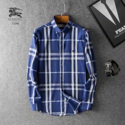 Burberry Shirts for Men's Burberry Long-Sleeved Shirts #9116486