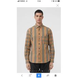 Burberry Shirts for Men's Burberry Long-Sleeved Shirts #9123240