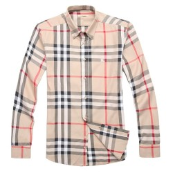 Burberry Shirts for Men's Burberry Long-Sleeved Shirts #996507