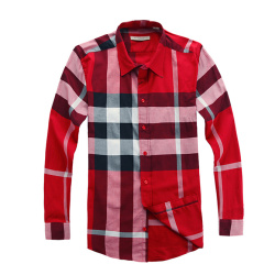 Burberry Shirts for Men's Burberry Long-Sleeved Shirts #996508