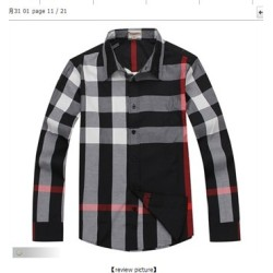 Burberry Shirts for Men's Burberry Long-Sleeved Shirts #996519