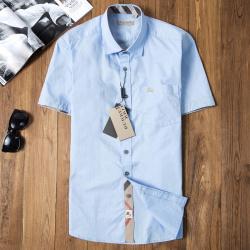 Bub*ry Shirts for Men's Bub*ry Shorts-Sleeved Shirts #996531