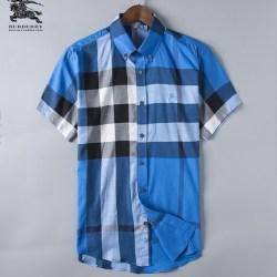 Bub*ry Shirts for Men's Bub*ry Shorts-Sleeved Shirts #999492
