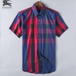 Bub*ry Shirts for Men's Bub*ry Shorts-Sleeved Shirts #999493