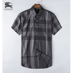 Burberry Shirts for Men's Burberry Shorts-Sleeved Shirts #999495