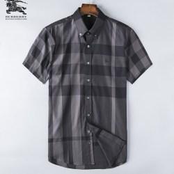 Bub*ry Shirts for Men's Bub*ry Shorts-Sleeved Shirts #999495