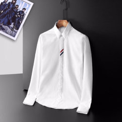 THOM BROWNE Shirts for THOM BROWNE Long-Sleeved Shirt for men #9873442