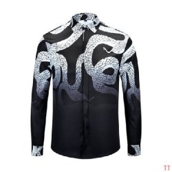 Ve*sace Shirts for Ve*sace Long-Sleeved Shirts for men #9102199
