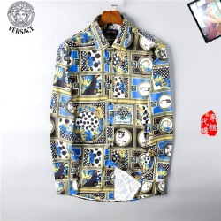 Versace Shirts for Versace Long-Sleeved Shirts for men #9122881