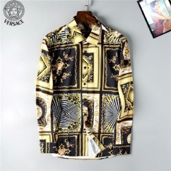 Versace Shirts for Versace Long-Sleeved Shirts for men #9122883