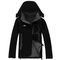 Classic BRAND the n face MEN's oudoor hooded Polartec softshell norTh Jacket Male Sports Windproof Waterproof Breathable winter face Coats 170 #9109663