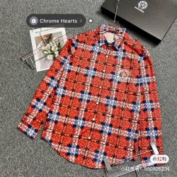 Chrome Hearts Shirts for Chrome Hearts Long-Sleeved Shirts for men #99909072