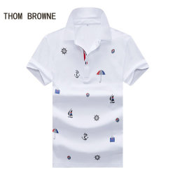 THOM BROWNE Shorts-Sleeveds Shirts For Men #99896201