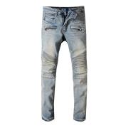New Fashion Men's brand B Lightweight Jeans Fashion Casual Solid Classic Straight Denim Designer Jeans #9109376