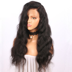 long curly hair black small volume front lace wig hand woven hood factory spot wholesale LS-052 #9116409