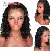New European and American Wigs Women's Front Lace Chemical Fiber Long Straight Hair Wig Manufacturers Spot Wholesale 18 inches #99909718