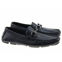 Soft Leather men leisure dress shoe part gift doug shoes Metal Buckle Slip-on Famous brand man lazy falts Loafers Zapatos Hombre 40-46 #9109323