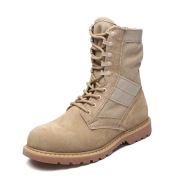 Military boots suede cowboy boots cowhide outdoor boots England Martin boots rhubarb shoes men's tooling #99907999