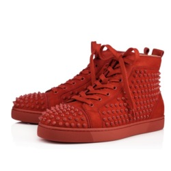 Fashion Designer Brand Studded Spikes Flats shoes Red Bottom Shoes For Men and Women Party Lovers Genuine Leather Sneakers #9102076