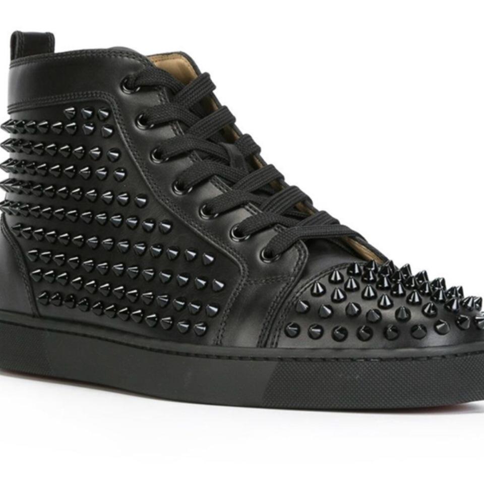 Buy Cheap Fashion Designer Brand Studded Spikes Flats ...