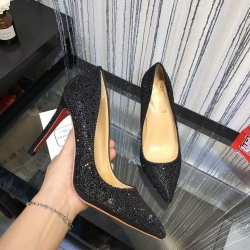 Christian Louboutin 10cm high-heeles shoes for women #911549