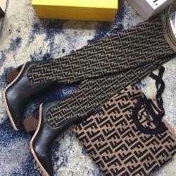 Fendi shoes for Fendi Boot for women #9126501